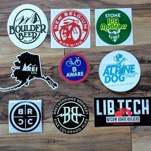 Accessories - Brewery sticker bundle